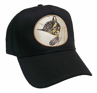 Chessie the Railroad Kitten Embroidered Cap Hat #40-7500