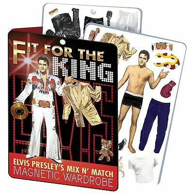 Elvis Presley fit for the King Mix n' Match Magnetic Wardrobe Dress Up