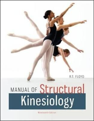 Manual of Structural Kinesiology by R.T. Floyd Paperback Book (English)
