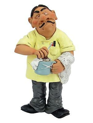 Barber stylist Character Figurine Resin  inches - LB 16487