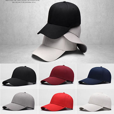26c55c062ed 2016 Men Women New Black Baseball Cap Snapback Hat Hip-Hop Adjustable Bboy  Caps