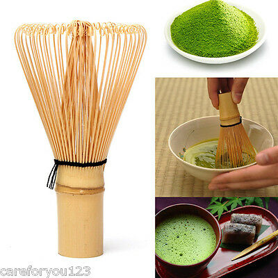 Japanese Ceremony Bamboo Chasen Green Tea Whisk for Preparing Matcha Powder Tool