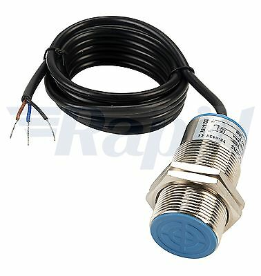 TruSens PIN-T30L-001 10mm NPN N/O M30 Long Inductive Sensor Cable Out