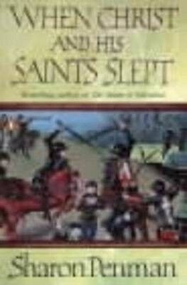 When Christ and His Saints Slept by Sharon Penman Paperback Book (English)