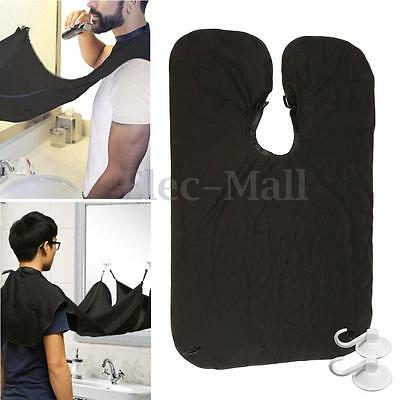 Gather Whiskers Cloth Beard Apron Bib Facial Hair Trimmings Catcher Cape Sink