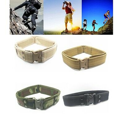 Tactical Outdoor Hunitng Survival Security Police Duty Utility Waist Belt 2""