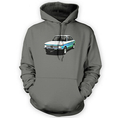 New Class Hoodie -x12 Colours- Gift German Classic Series Vintage Car