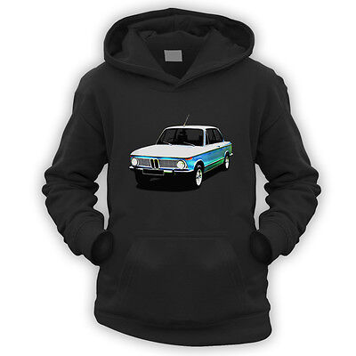 New Class Kids Hoodie -x9 Colours- Gift German Classic Series Vintage Car