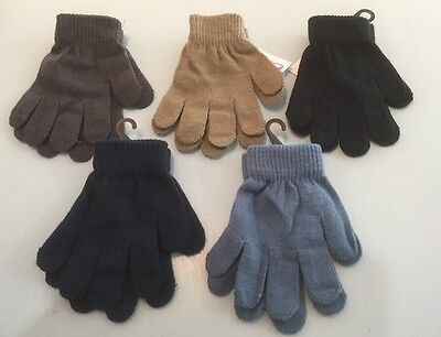 boys gloves Black Blue Green 1,2,3,4,5,6 Years Winter