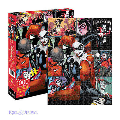 Awesome DC COMICS HARLEY QUINN 1000 Piece Jigsaw Puzzle