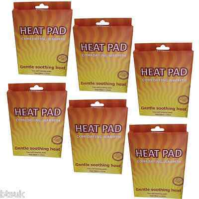 6 Boxes of 2 Self Adhesive Instant Heat Muscle Pain Relief Pads/Twin Pack (CH05)