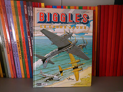 BIGGLES, Tome 1 : Le Cygne Jaune - Aventure/Aviation - BD COMME NEUF