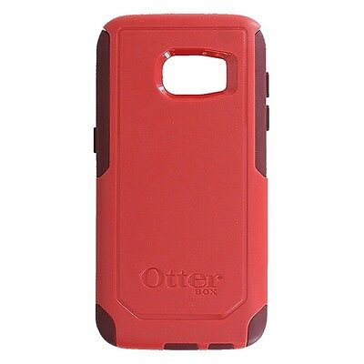 NEW OtterBox Commuter Case for Samsung Galaxy S7 - Flame Red