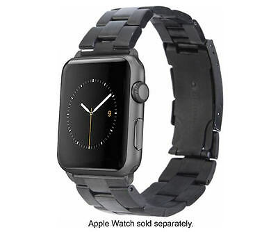 Genuine Monowear - Watch Band for Apple Watch™ 42mm - Black/Gray Metal Link - VG
