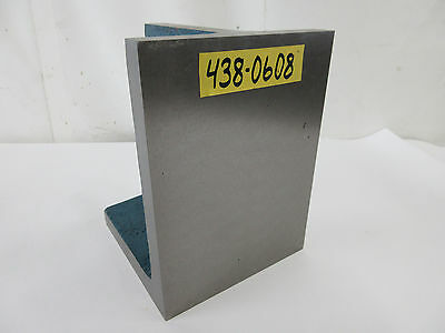 """SAVON 6"""" x 8"""" x 6"""" Steel Workholding Right Angle Iron Plate Fixture"""