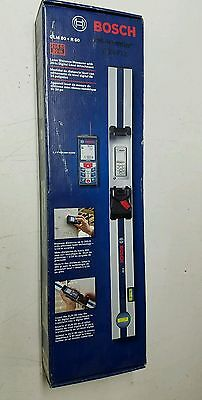 Bosch GLM80R60 265-ft Lithium-Ion Laser Distance Meter with 600mm Measuring Rail