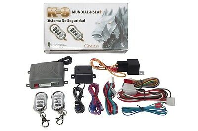 K9 Mundial-NSLA+ Vehicle Security & Keyless Entry System