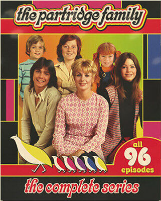 Partridge Family: The Complete Series - 8 DISC SET (2015, REGION 1 DVD New)
