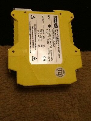 Phoenix Contact Safety Relay PSR-SCP-24UC/ESL4/3X1/1X2/B  2981059 Great Working
