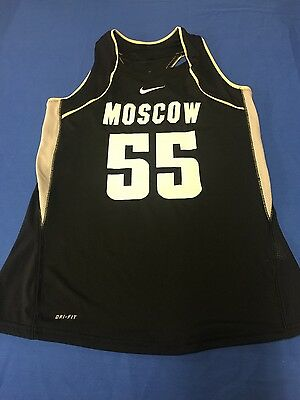 Women s Nike Moscow   55 basketball team jersey shirt M 77db90e6f