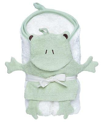 Under the Nile Organic Egyptian Cotton Hooded Towel & Wash Mitt Set - Frog