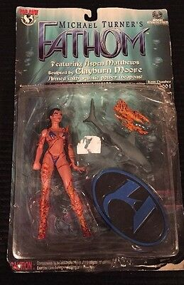 1999 Moore Collectables Michael Turner's Fathom!  Unopened...box In Poor Cond