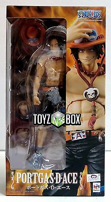 """In STOCK Megahouse Variable Action Heroes """"Portgas D Ace One Piece Action Figure"""