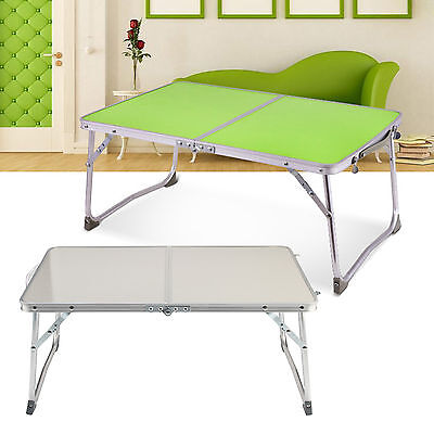 Portable Folding Picnic Camping Table TV Dinner Desk Stand PC Laptop Bed Tray