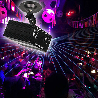Mini 48 Pattern LED RGB Laser Projector Stage Lighting DJ Disco Party Club Light