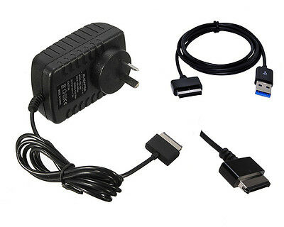 AC Charger+USB 3.0 Data Sync Cable For ASUS Transformer Eee Pad TF300 TF300T