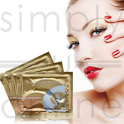 Collagen Crystal Eye Mask Patch Pad Anti Wrinkle Moisture 1, 5 & 10 Pairs