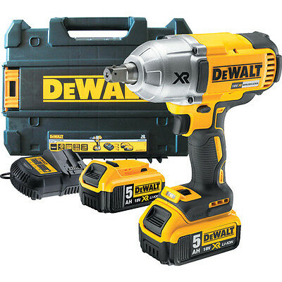 "Dewalt Dcf899P2-Gb Impact Wrench 1/2"" Square Drive 18Volt Xr Brushless With 2X5A"