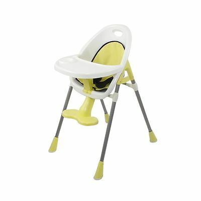 For Baby Toddler Infant Highchair Feeding Dining Chair with Tray - Yellow