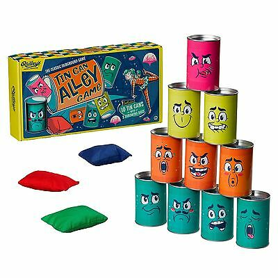 Ridley's Tin Can Alley Outdoor Garden Party Family Game Target Practice Toy