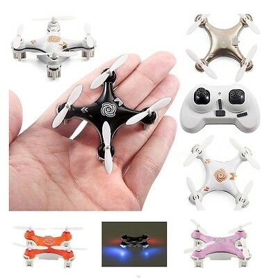 Micro Nano Quadcopter Super Mini Stunt Drone with LED Lights 3D Gyro 6 Axis 4CH