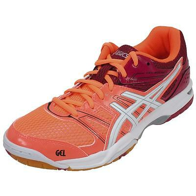 Chaussures volley ball Asics Rocket gel 7 org volley l Orange 21561 - Neuf