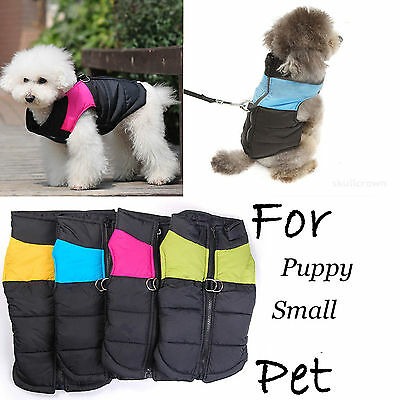 Waterproof Jacket Warm Coat Winter Padded Clothes Apparel for Pet Dog Cat Puppy