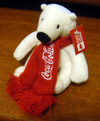 "2011 Coca-Cola Artic Home 4"" Promotional Bear"