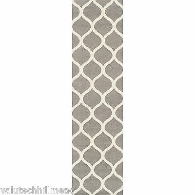 Brook Lane Rugs Viva Grey Runner Rug - 60x230cm
