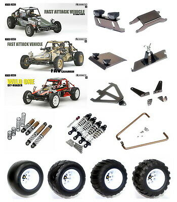 new aluminum option parts /Truck tires  for TAMIYA WILD ONE/FAST ATTACK