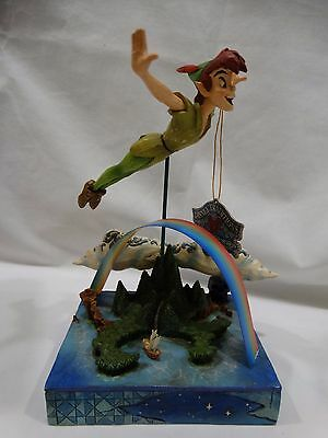 Jim Shore Peter Pan Soar to the Stars Disney Traditions Showcase # 4009043