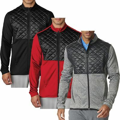 adidas Golf Climaheat Prime Fill Insulated Quilted Mens Golf Thermal Jacket