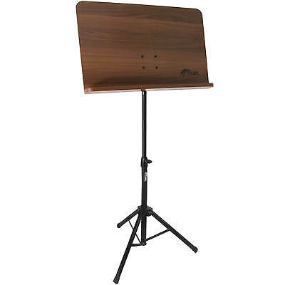 Wooden Conductor Sheet Music Stand - Adjustable - Foldable - Tripod