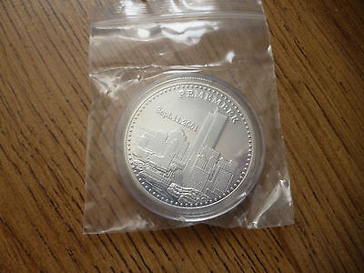 September 11 2001*twin Towers*commemorative Coin*freedom*remember
