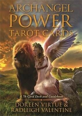 Archangel Power Tarot Cards: A 78-Card Deck and Guidebook by Doreen Virtue (Engl