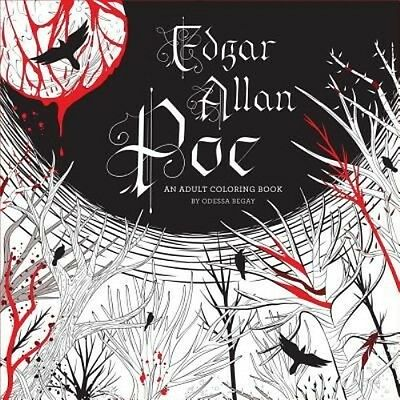 Edgar Allan Poe: An Adult Coloring Book by Odessa Begay Paperback Book (English)