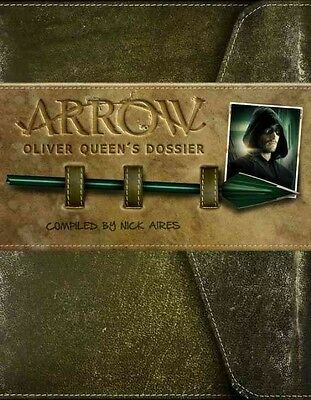 Arrow: Oliver Queen's Dossier by Titan Books Hardcover Book (English)