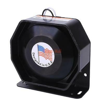 Universal 200W 12V Compact Loud Speaker PA System Horn Emergency Warning Siren