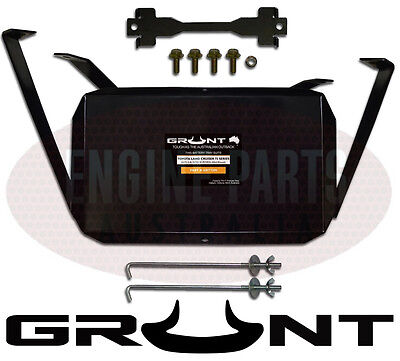 Grunt Dual Battery Tray Fit Toyota 75 Series Landcruiser Mid Mount Tray Gbt75M