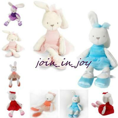 Vogue Baby Girls Rabbit Bunny Sleeping Comfort Stuffed Soft Plush Dolls Toy JJ